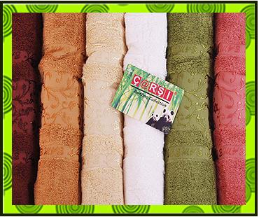 Бамбуковые полотенца на заказ