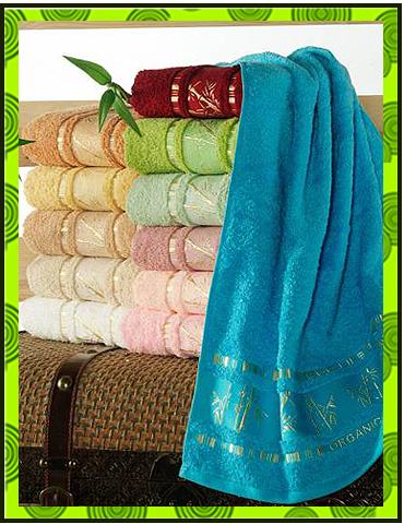 Бамбуковые полотенца, фото