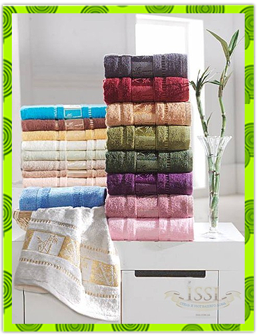 Бамбуковые полотенца, заказать