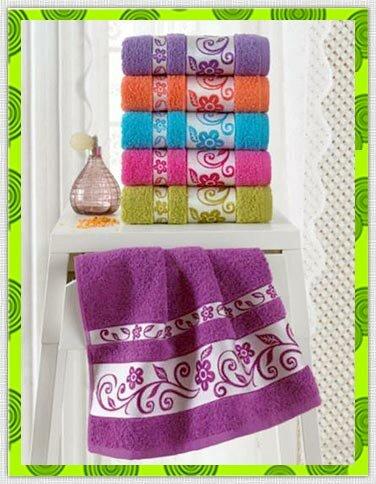 Жаккардовые полотенца выбрать