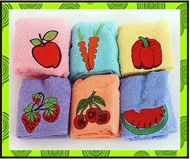 Кухонные полотенца фрукты - овощи, заказать