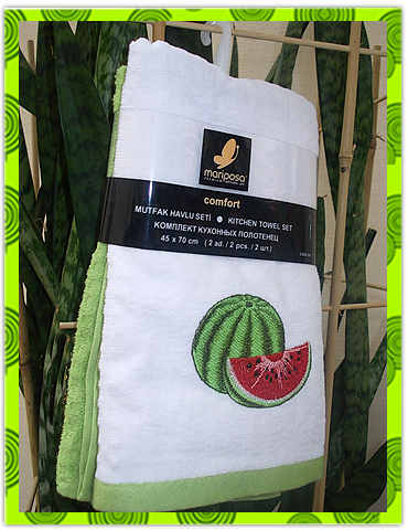 Набор махровых полотенец с вышивкой, цена