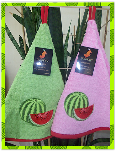 Набор махровых полотенец с вышивкой, фото