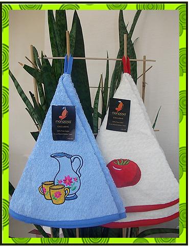 Набор махровых полотенец с вышивкой на заказ