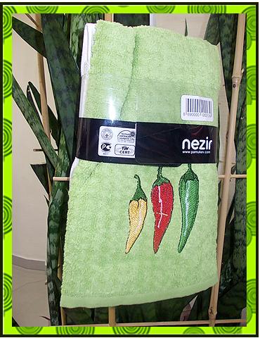 Махровое полотенце с вышивкой, купить