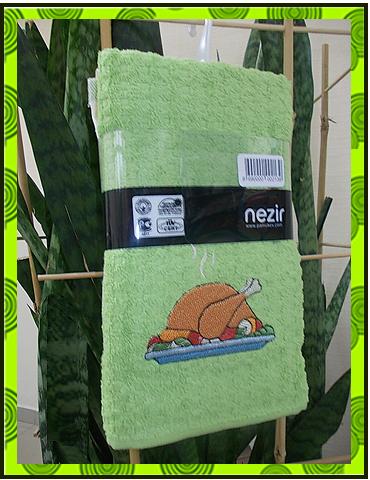Махровое полотенце с вышивкой, заказать