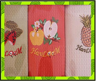 Вафельное полотенце с вышивкой в Харькове